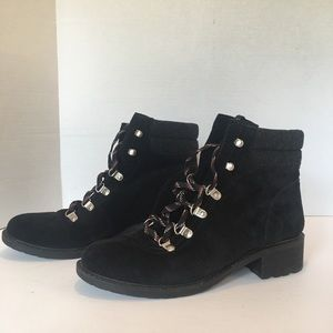 "Sam Edelman "" Darrah"" boot in black/ phantom grey"